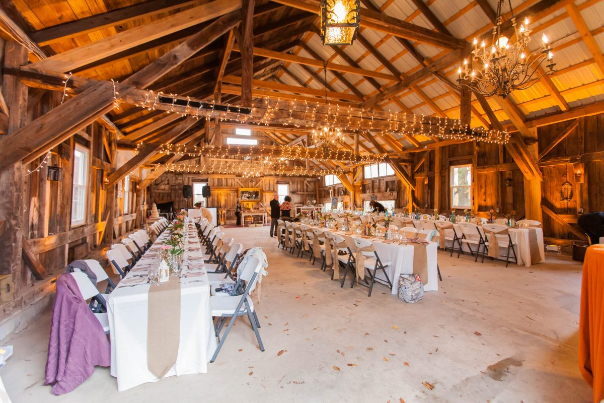 margaretville barn wedding